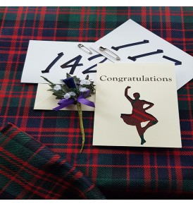 Highland Dance Cards...
