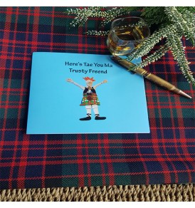 Scottish Greetings Card...