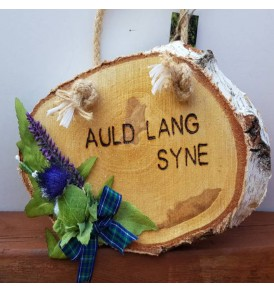 Scottish Wall Plaque Auld...