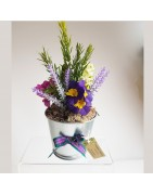 Silk Flower Arrangements Thistles And Heather For Any Occasion